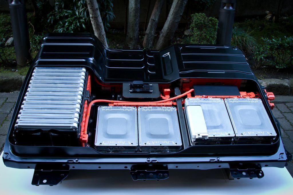 Bild 5: Das Akkupack vom Nissan Leaf.