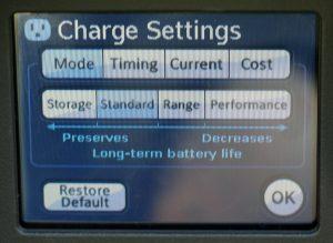 Tesla warnt seine Kunden bei der Auswahl des Fahrmodus vor den Auswirkungen auf die Lebensdauer der Batterie.