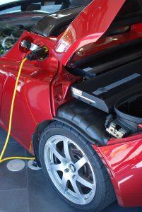 Bild 4: Batterie des Tesla Roadster.